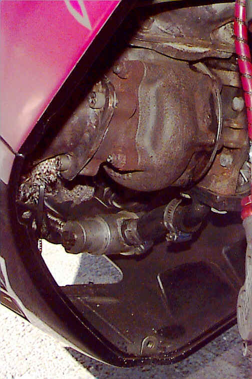 Christer Johansson's Turbo GSXR 1100